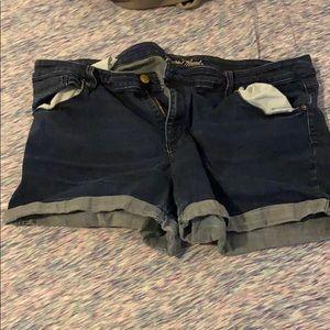 22W Universal Thread Denim Shorts